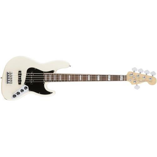 Fender American Elite  Jazz Bass - Olympic White -  0197100705