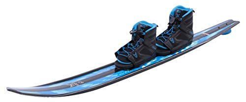 HO Sports 2019 EVO Water Skis 67 Inches with FreeMax Boot Double 7-11 (Best At Ski Boots 2019)