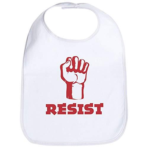 CafePress Resist Bib Cute Cloth Baby Bib, Toddler Bib