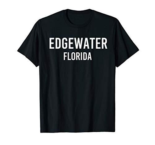 EDGEWATER FLORIDA FL USA Patriotic Vintage Sports T-Shirt
