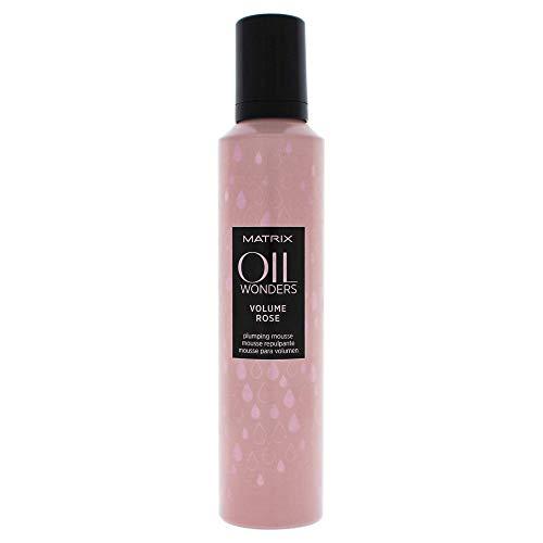 Matrix Oil Wonders Volume Rose Plumping Mousse for Fine Hair, 8.3 oz