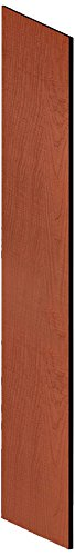 UPC 820996459725, Salsbury Industries 33336CHE Side Panel for 21-Inch Deep Designer Wood Locker with Sloping Hood, Cherry Red