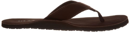 Reef LEATHER SMOOTHY, Chanclas de Piel, Hombre Marrón (Brown/Bro)
