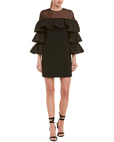 Cinq a Sept Women's Valentina Dress, Black, 2 (Cinq A Sept Evangeline Tulle Midi Dress)