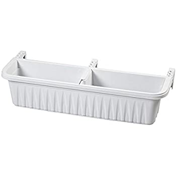 Adjustable Self Watering Railing Planter 24 24 Bama 30219