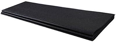 BalanceFrom GoFit High Density Treadmill Exercise Bike Equipment Mat, 3-Feet X 6.5-Fee