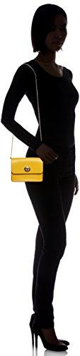 Sv Crossbody Womens COACH Refined Leather Turnlock Yellow Calf Swq7C6
