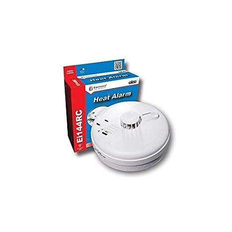 Aico Ei144RC Easi-fit detector de calor 230 V + 9 V Alkaline batería de reserva: Amazon.es: Bricolaje y herramientas