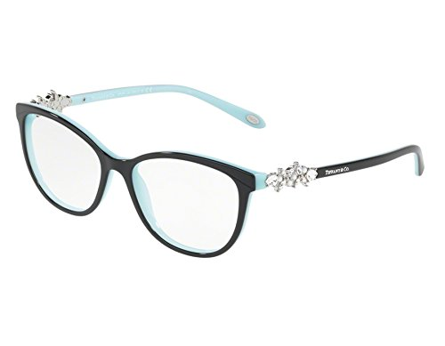 Tiffany 0TF2144HB-8055 BLACK/BLUE -52mm - And Victoria Co Tiffany