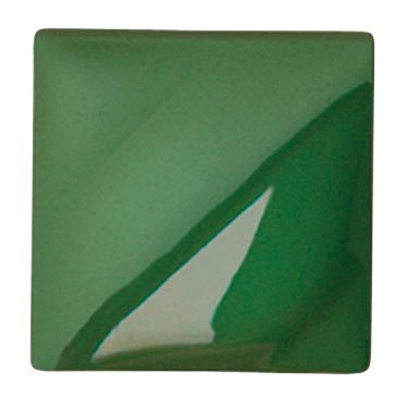 AMACO Velvet Lead-Free Non-Toxic Semi-Translucent Underglaze, 1 Pint, Dark Green V-353