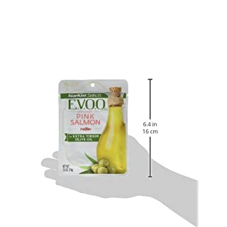 StarKist E.V.O.O. Wild-Caught Pink Salmon - 2.6 oz Pouch (Pack of 12)