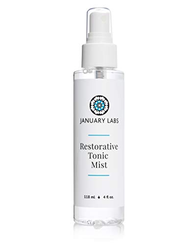 Brightening Tonic - January Labs Skin Essentials Restorative Tonic Mist Spray, 4 oz. Bottle