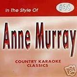 Music : ANNE MURRAY Country Karaoke Classics CDG Music CD