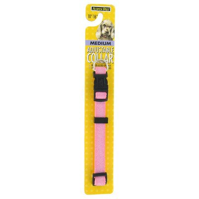 Petmate Adjustable Collar, 5/8 by 10 by 16-Inch, Pink