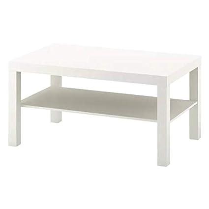 Dimensioni Tavolino Lack Ikea.Ikea Lack Tavolino Da Salotto 90 X 55 Cm Colore Bianco