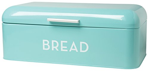 Retro Bin (Now Designs Bread Bin, Turquoise Blue)