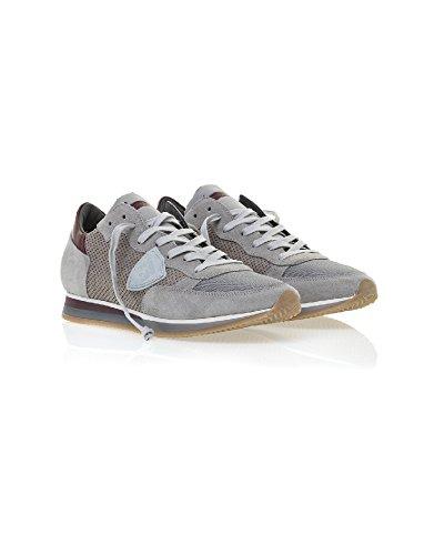 Philippe Model Meester Trlups45 Grau Beheren Sneakers