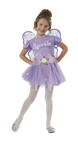 Rubies Purple Sparkle Fairy Dress-Up Costume, Toddler
