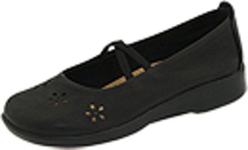 (Arcopedico Flower Black Leather 36 (US Women's 5.5-6) M)