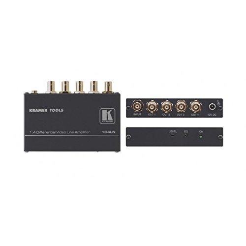 KRAMER 104LN Kramer Electronics 104LN 1:4 Composite Video Differential (104LN Kramer 104LN 1:4 Composite Video Differential Line (Video Differential Line Amplifier)