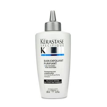 Kerastase Specifique Bain Exfoliant Purifiant Shampooing pour unisexe (de cuir chevelu gras), 4,2 once
