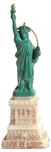 CityDreamShop Statue of Liberty Hanging Christmas Ornament ()