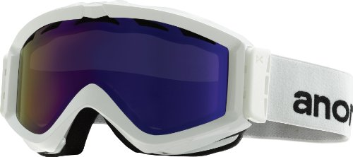 - Anon Figment Snow Goggles White with Blue Solex Lens