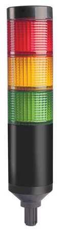Tower Light, 56mm, Steady, Flash, Red, Ylw, Gr