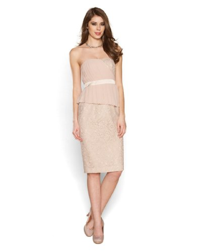 Lucinda lace peplum dress