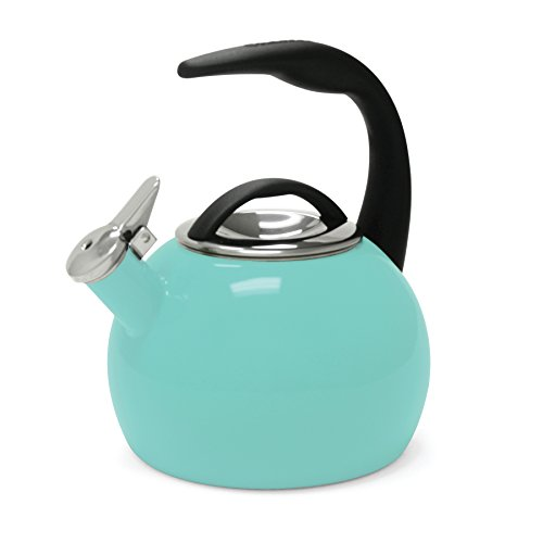 Chantal 37-ANN AQ Enamel on Steel 40th Anniversary Teakettle