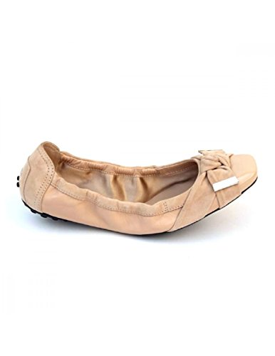 Tods Ladies Ballerina Xxw0dk0a0403j6c210 Taupe