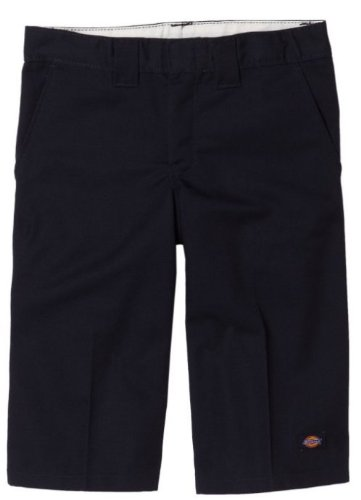 Dickies Big Boys' Flex Waist Short With Extra Pocket, Black, 8