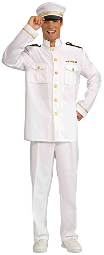 Forum Novelties Men's World War Heroes Navy Officer Jacket, White, One Size for $<!--$22.99-->