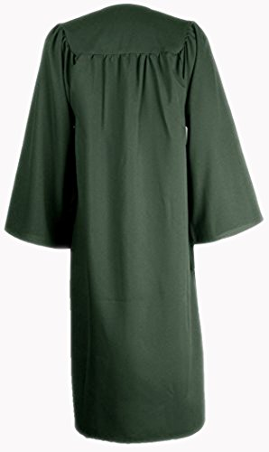 Ivyrobes Unisex Adults Matte Choir Robe X-Large Forest Green 54 by Ivyrobes (Image #1)
