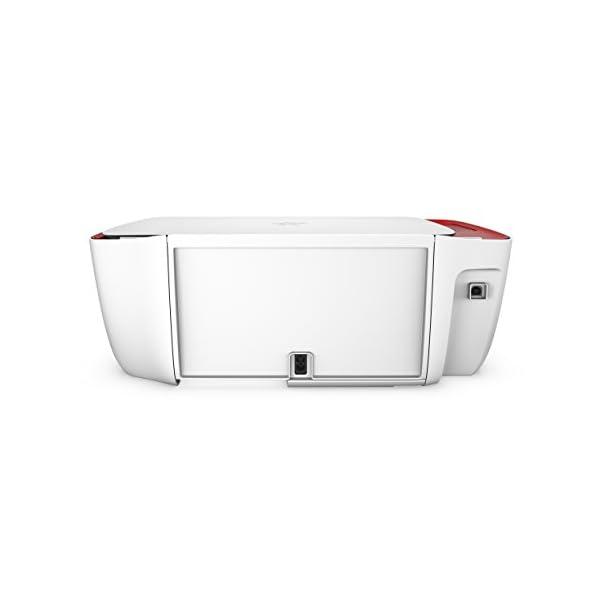 HP DeskJet 3637 - Impresora multifunción (Inyección de Tinta térmica A4, WiFi, Color, Negro, Cian, Magenta, Amarillo) Color Blanco 2