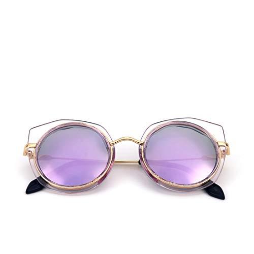 de Polarisées Frame Lunettes Lens Soleil Lunettes Black Mode Soleil Soleil Lens Couleur Enduites Lunettes De De Purple Purple Frame Colorées Black De TLMY ax78wnCqC