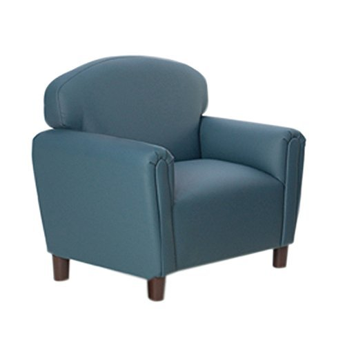 (Brand New World Furniture FP2B200 Brand New World Preschool Enviro-Child Upholstery Chair, Blue )