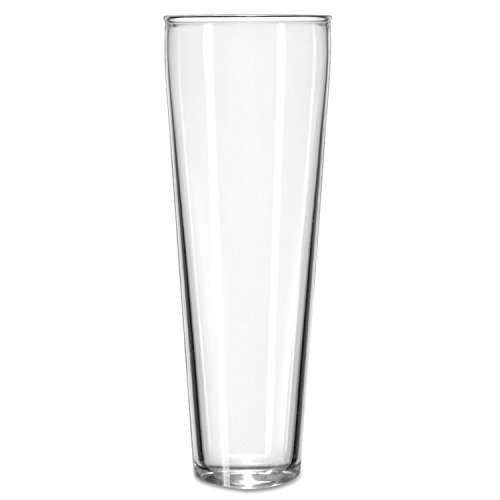 Catalina Tall Beer - Libbey Catalina Footed Beer Glasses, Pilsner, 12Oz, 9