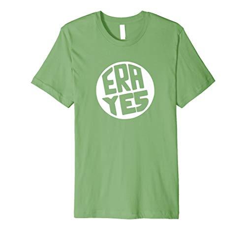 ERA YES Shirt - Retro Equal Rights Amendment Tshirt WHITE