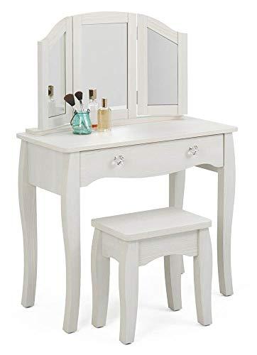 4D Concepts Lindsay VANITY, Stone White Oak