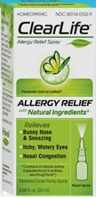 ClearLife Allergy Relief Nasal Spray, 0.68 Ounce (Pack of 3) -  01304765