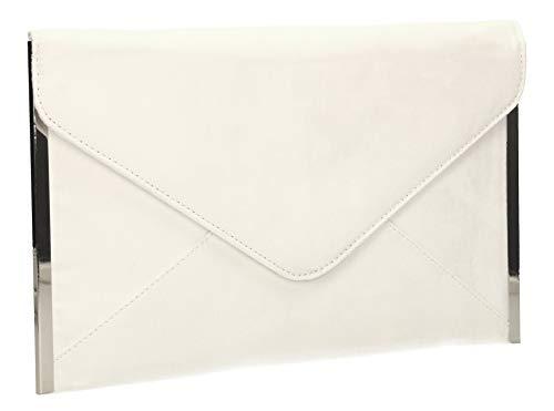 Prom fin Sac Crème blanc fête enveloppe Louis Femme SwankySwans d'embrayage Embrayage en daim 0xq1PRU
