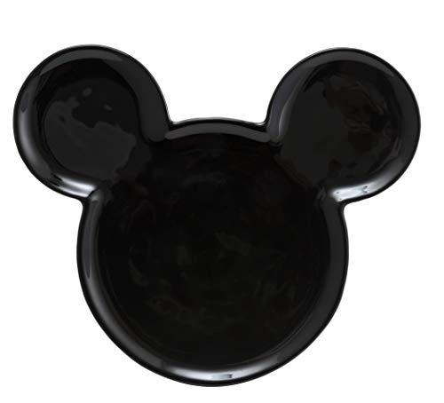 Joy Toy 62135Mickey Mouse Ears Ceramic Plate–Black