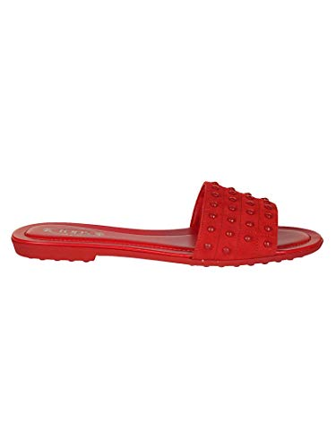 Pelle Xxw00v0y401hr0r401 Donna Sandali Rosso Tod's y8BYqPcqn