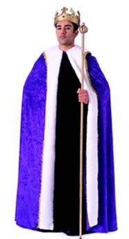 Rubie's Costume Co King's Robe Purple Velvet Costume (King Costumes Adults)
