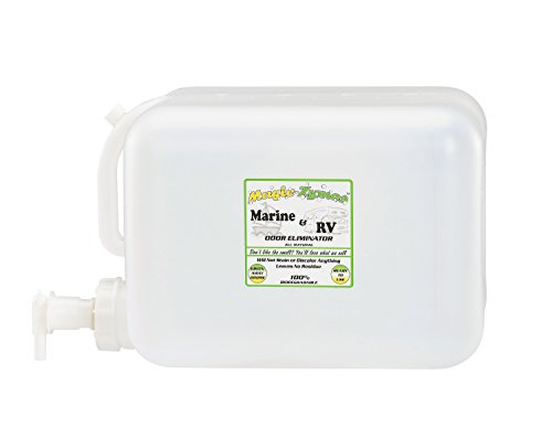 Magic-Zymes Marine & RV All Natural Odor Remover 5 Gallon Bottle by Magic-Zymes