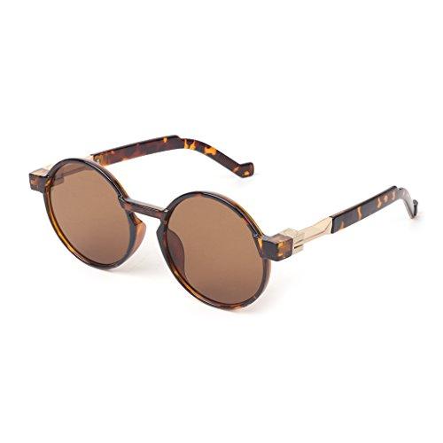 AS de The de Niños Showed Hombre Unisex Diseño Unisex Sol 2 Gafas Redondo SLYlive Gafas Picture Niña Steampunk Mujer Sol Adulto 6 Vintage U8fwxq5