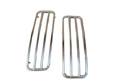 Chrome Saddlebag - Chrome Top Rails for 1993-2013 Harley Davidson Touring Hard Saddlebags