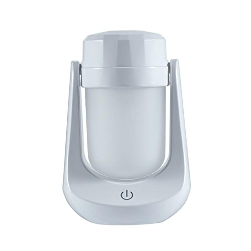 Price comparison product image DEESEE(TM) 120ML Creative Lamp Home Aroma Essential Oil Diffuser Aromatherapy Humidifier (White)