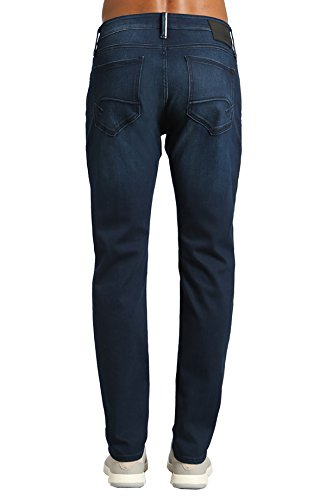 Brushed Denim Jeans (Mavi Men's Jake Regular-Rise Tapered Slim Fit Jeans,Ink Brushed White Edge,32W X 32L)
